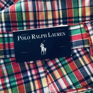 POLO By Ralph Lauren Men's Plaid Shorts